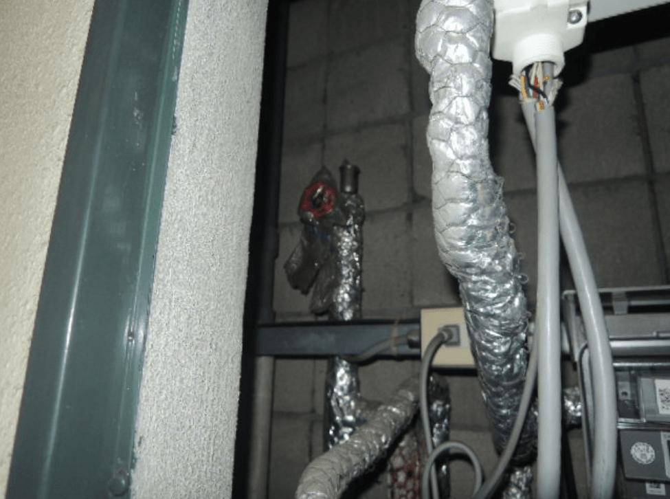 管理物件の漏水