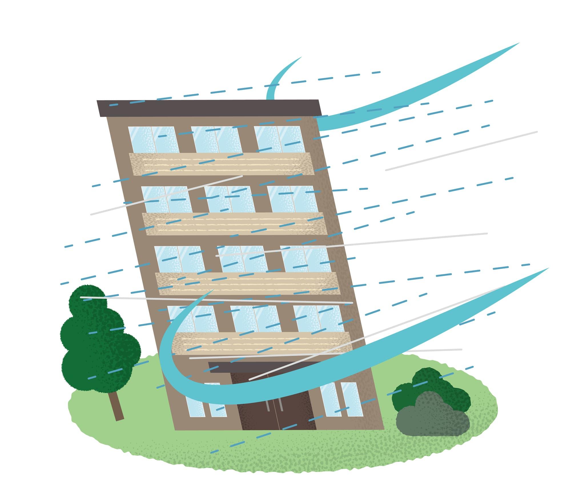 まさかの暴風被害!保険請求代行でスピード対応、修繕出費ゼロに。