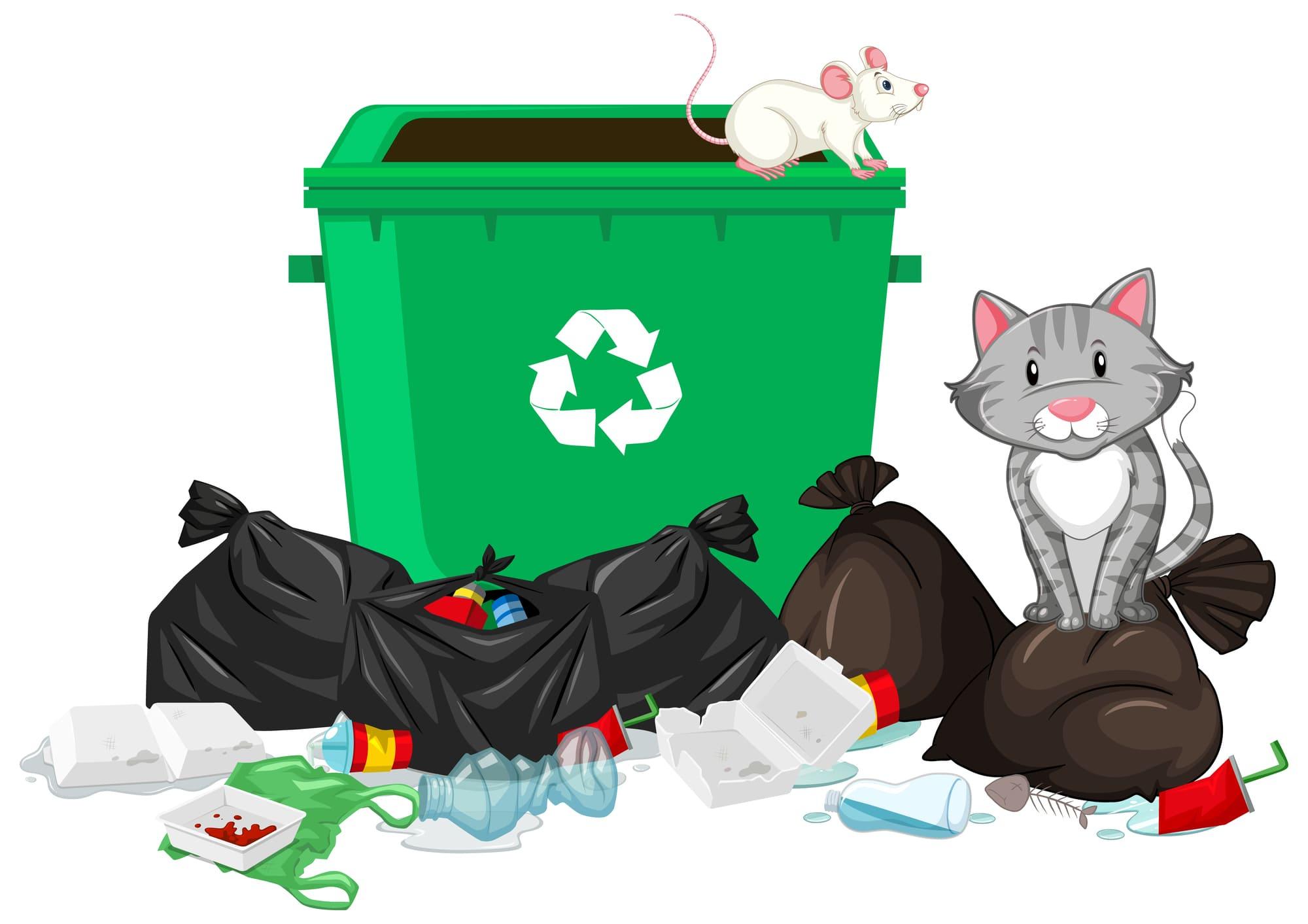 ゴミ置場の管理状態は、入居率に影響します。